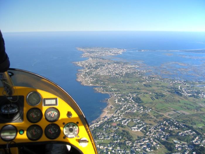 photo aerienne de Batz sur mer