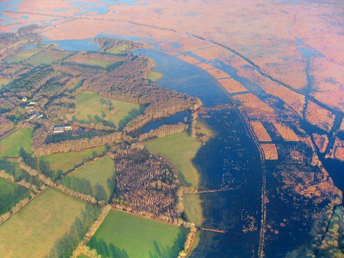 vue aerienne #3 de la Brière