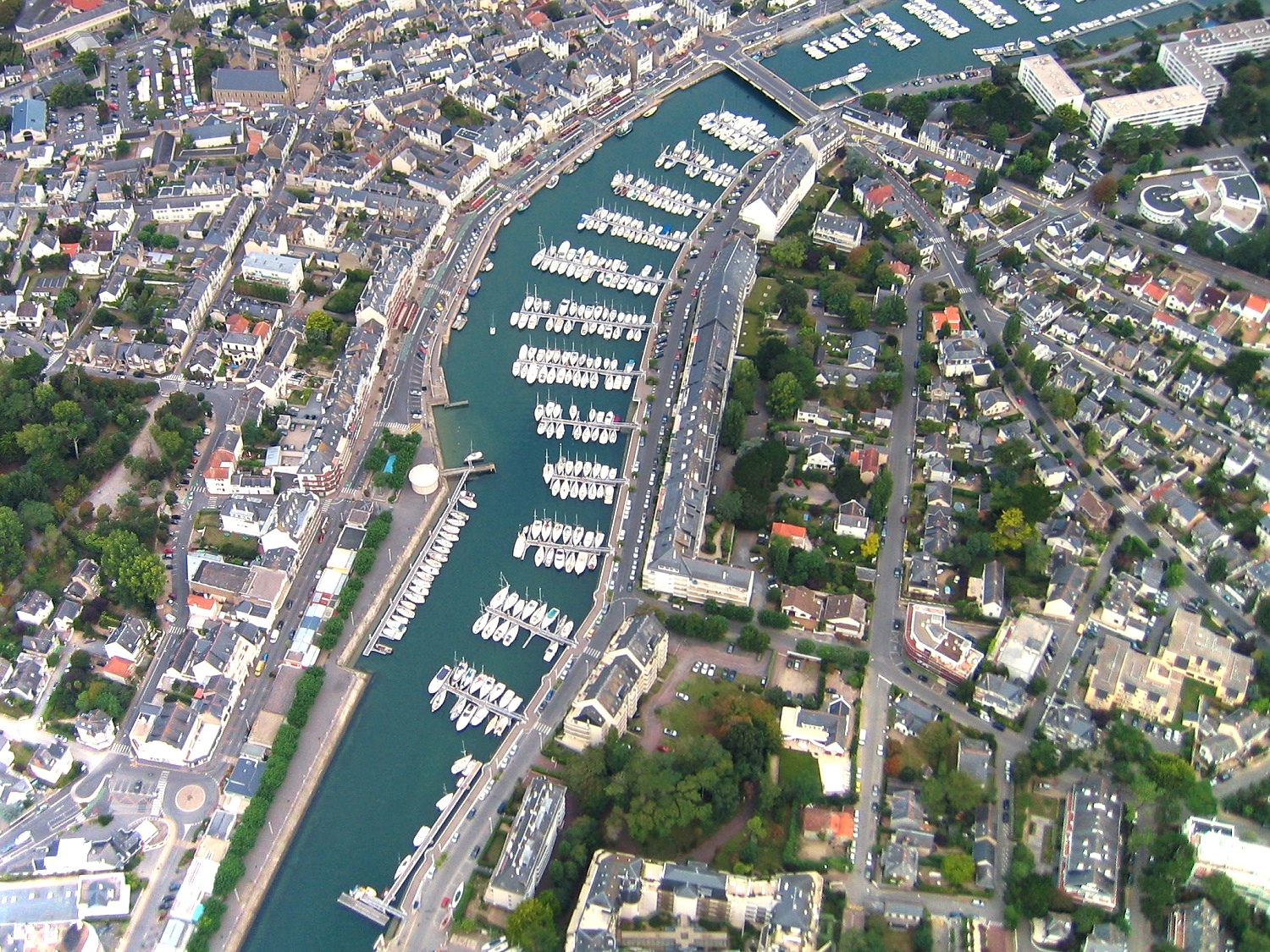 Photo aerienne en grand format du Pouliguen