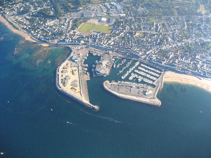 photo aerienne #1 du Port de La Turballe